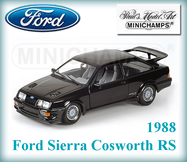 ford sierra cosworth rs 1988 lhd automodely cmc bbr maisto auto art b. Black Bedroom Furniture Sets. Home Design Ideas