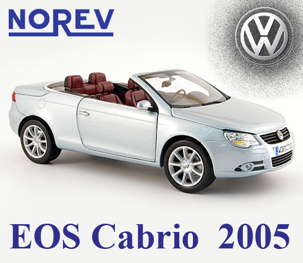 vw eos cabrio 2005 automodely cmc bbr maisto auto. Black Bedroom Furniture Sets. Home Design Ideas